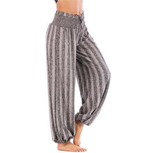 Casual Stripe Loose Yoga Pants