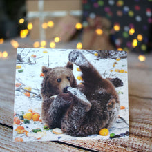 Load image into Gallery viewer, Snowy Bear Christmas Cards