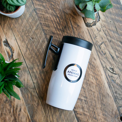 World Animal Protection thermal travel mug