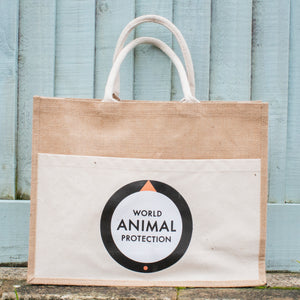 World Animal Protection jute bag