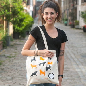 World Animal Protection dog tote bag