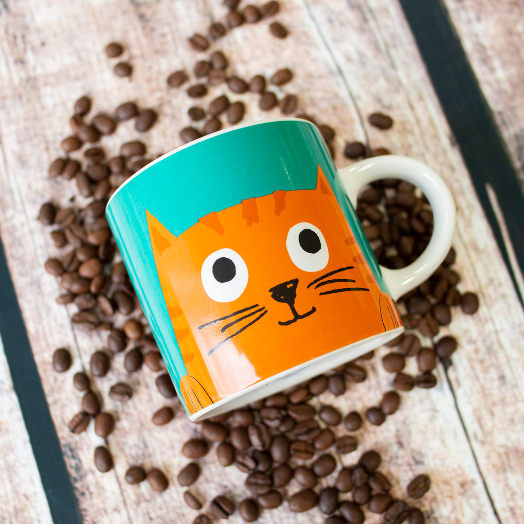 Chester the cat mug