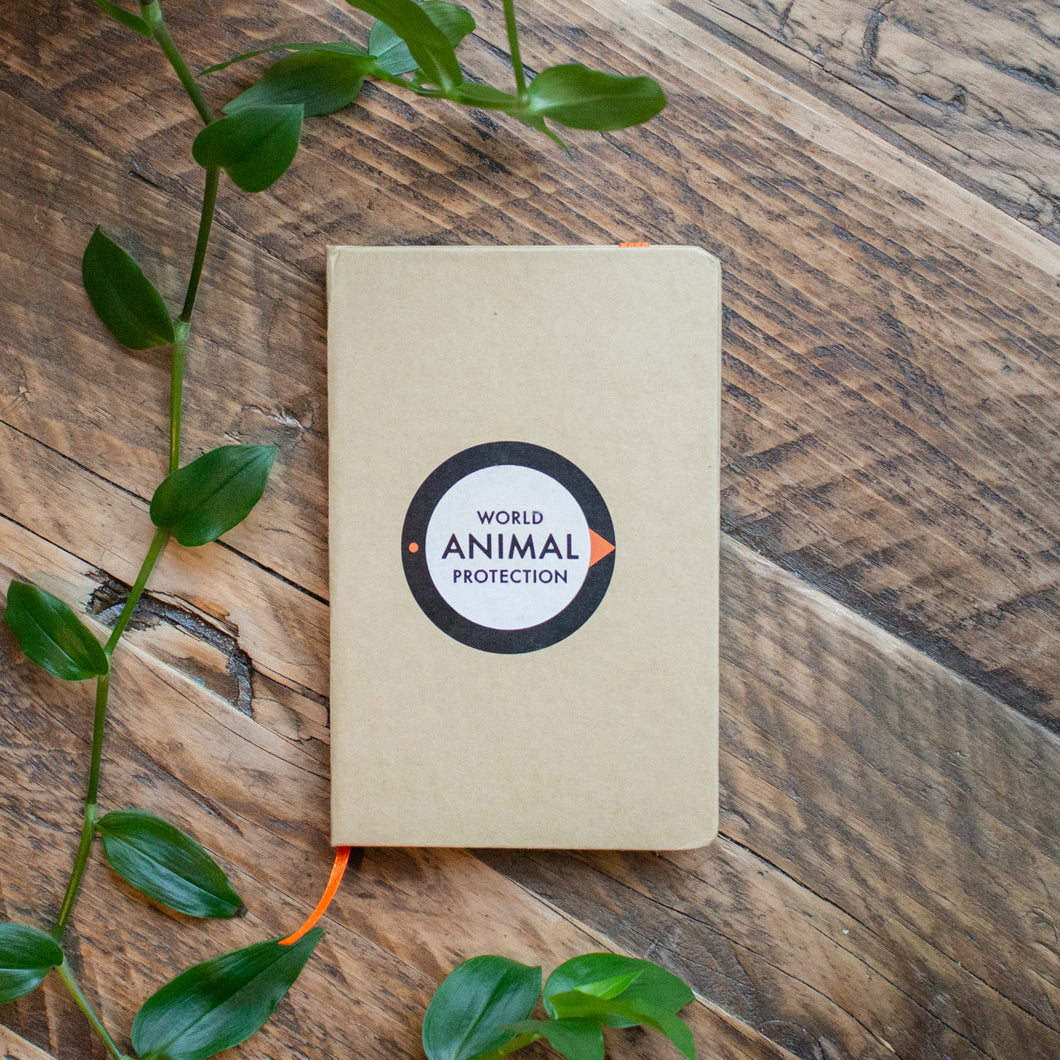World Animal Protection note book