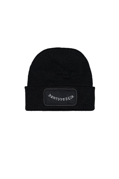 Dents de Scie® Baba Yaga Bonnet Beanie Noir - Dents de Scie®