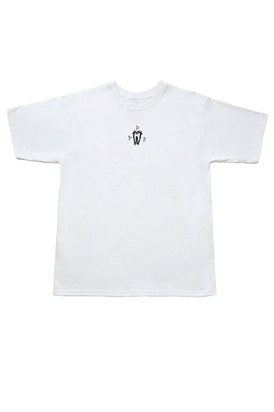 Dents de Scie® Midnight Forest Tee-shirt blanc - Dents de Scie®