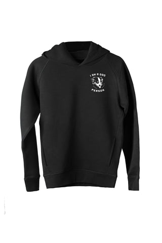 Dents de Scie® Dog person Sweat-shirt Noir - Dents de Scie®