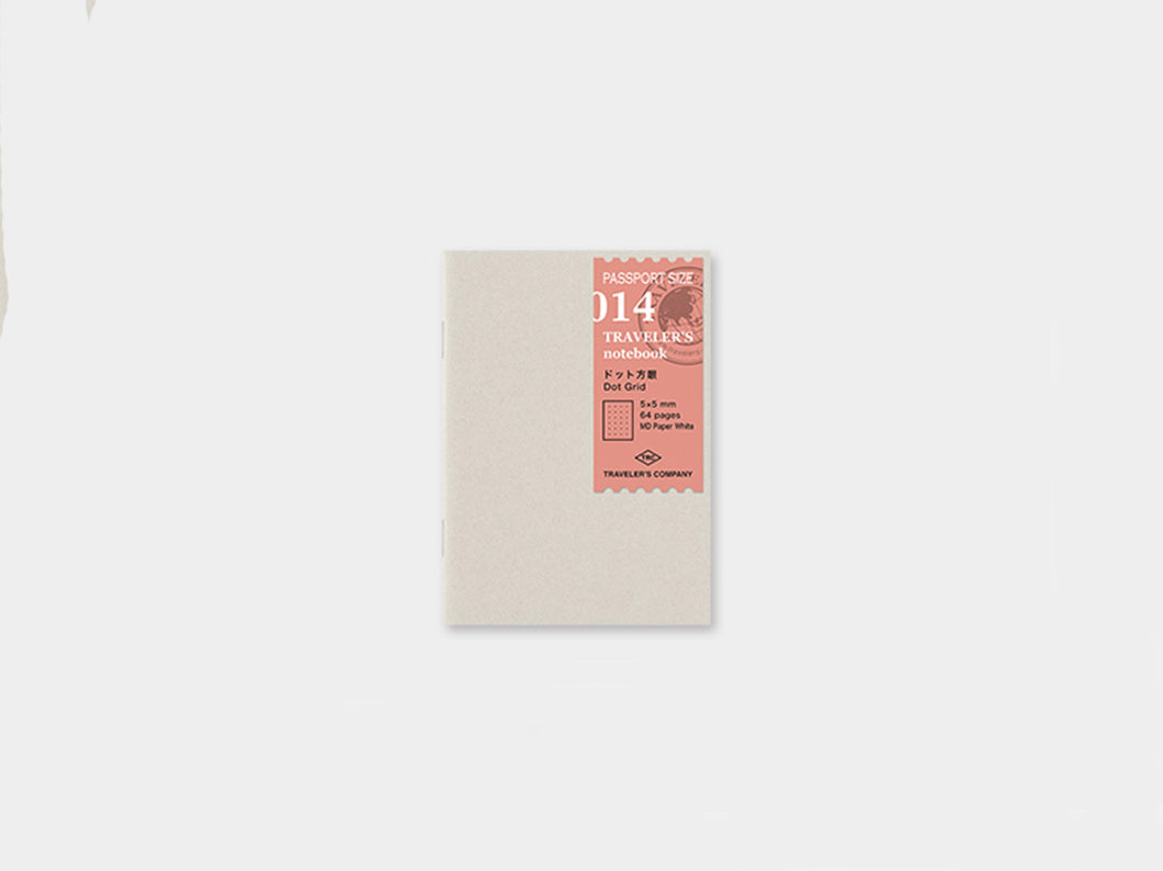 Midori dot Grid Paper Refill Passport Traveler's notebook