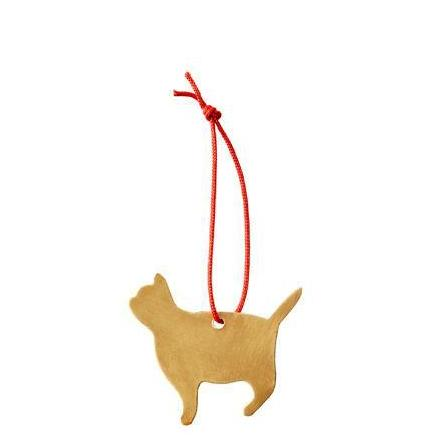 Brass ornament cat- Fog linen