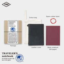 Load image into Gallery viewer, Midori Traveler's notebook- black