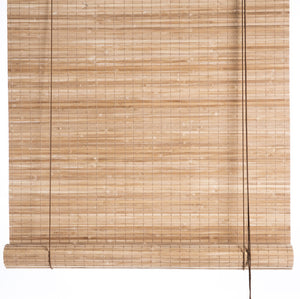 Brown thick bamboo blinds Color& Co