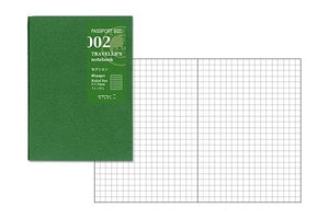 Midori Grid Refill MD Passport Size for Traveler's notebook