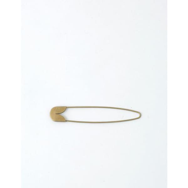 Brass safety pin M- 9 CM
