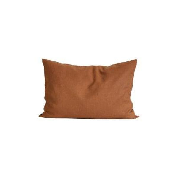 Cushion cover stone washed linen Amber 65x65 cm
