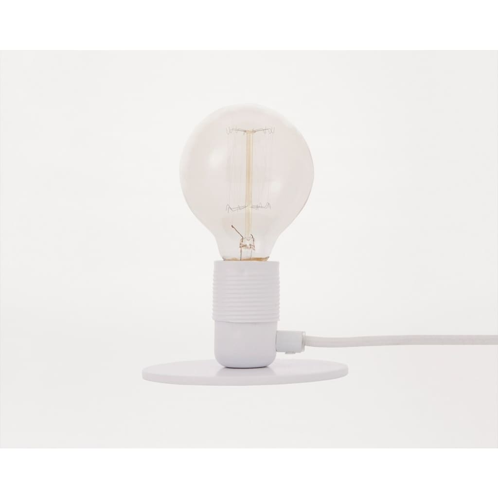 E27 Table Lamp | White