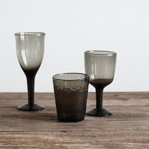 Galette wine glass low