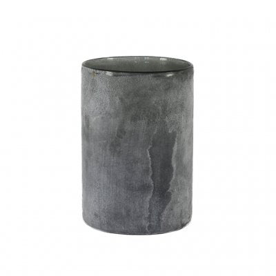 Frost candle holder Grey L