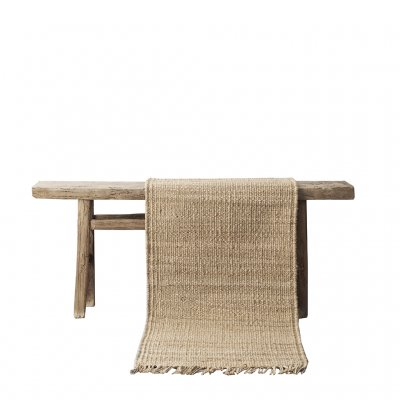 Hemp rug Natural 80x150cm