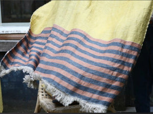 Belgium Fouta - Red earth stripe
