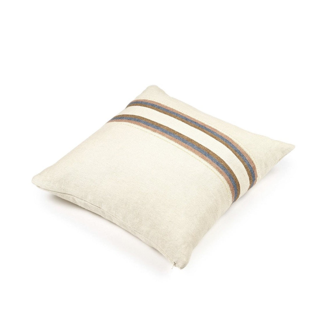 Belgium Fouta -Harlan stripe cushion cover