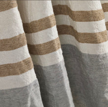 Load image into Gallery viewer, Belgium Fouta - Ash Stripe