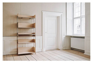 Vivlio Shelf small - Oak