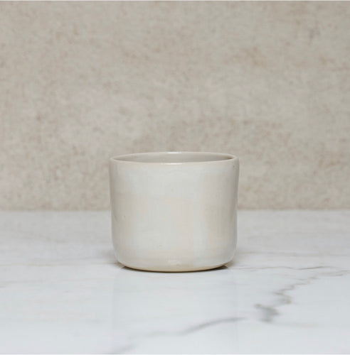 Cup White- Eva Follender Grossfeld