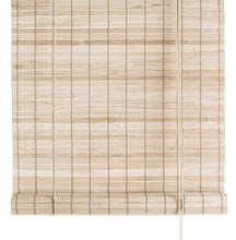 Load image into Gallery viewer, Light brown thick bamboo blinds Color& Co