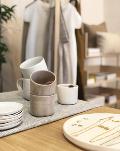 Cup Light Beige  - Eva Follender Grossfeld