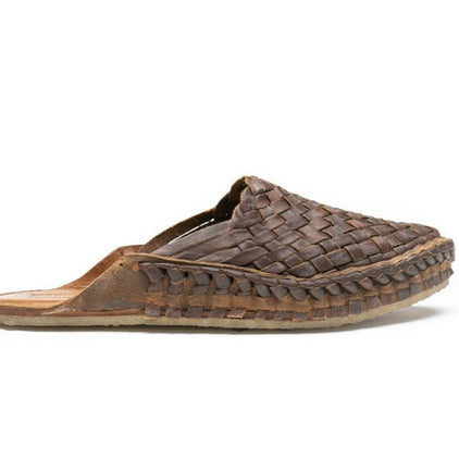 Woven slide/iron dyed leather Mohinders