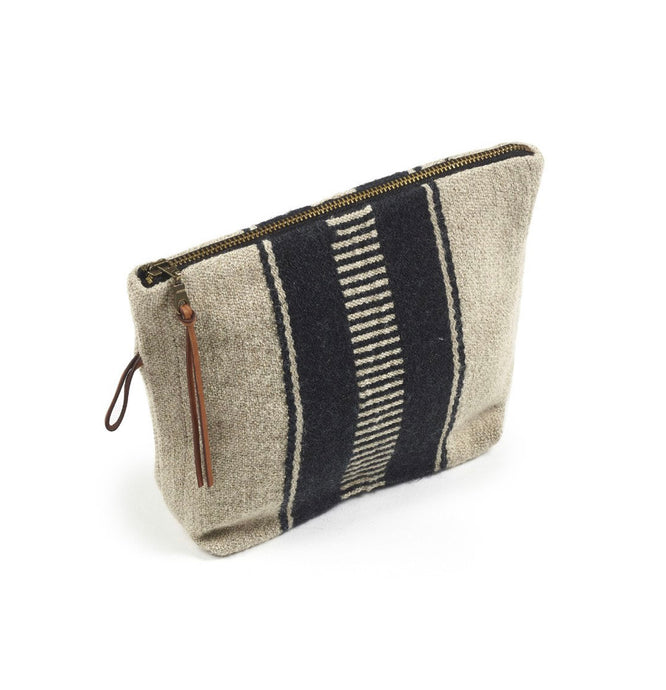 Marshall pouch bag- Black stripe