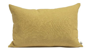 Linen cushion honey 40 x 60 cm