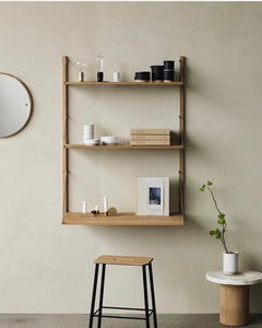 Shelf Library Natural H1148