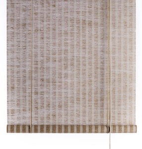 Brown natural plant blinds Color& Co
