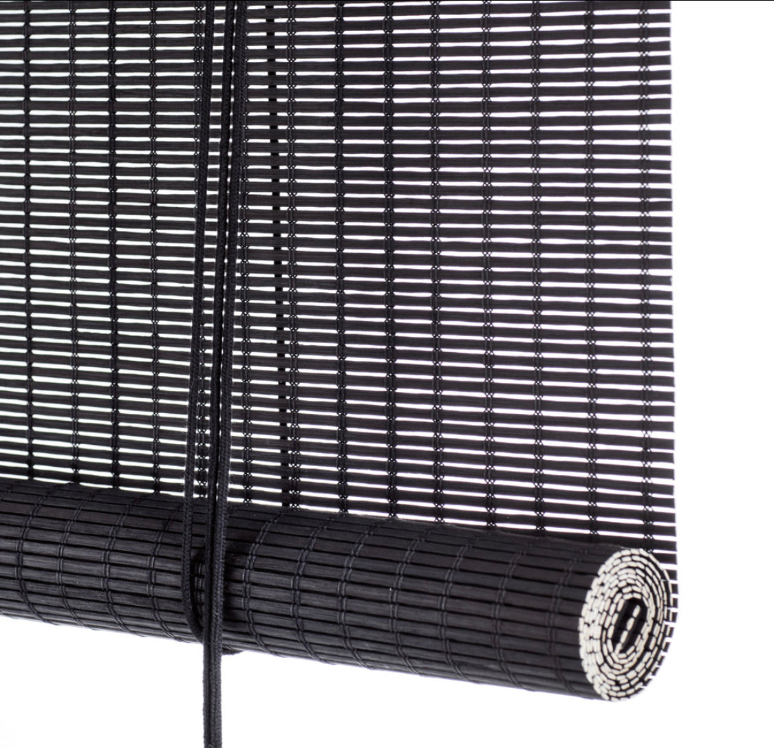 Black bamboo blinds Color& Co
