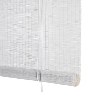 White fine bamboo blinds Color& Co