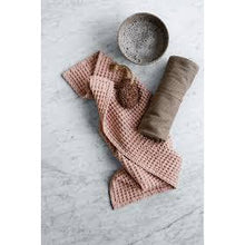 Load image into Gallery viewer, Big Waffle Kitchen and Wash Cloth- Grey