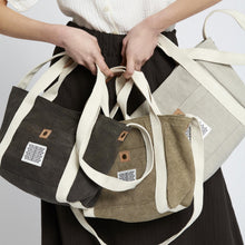 Load image into Gallery viewer, Japan Canvas Bag- Off White