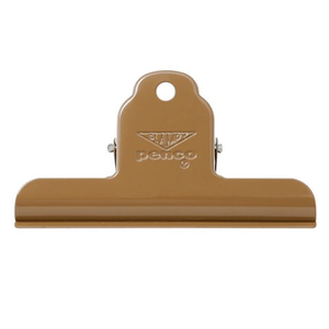 Penco clip- caramel brown