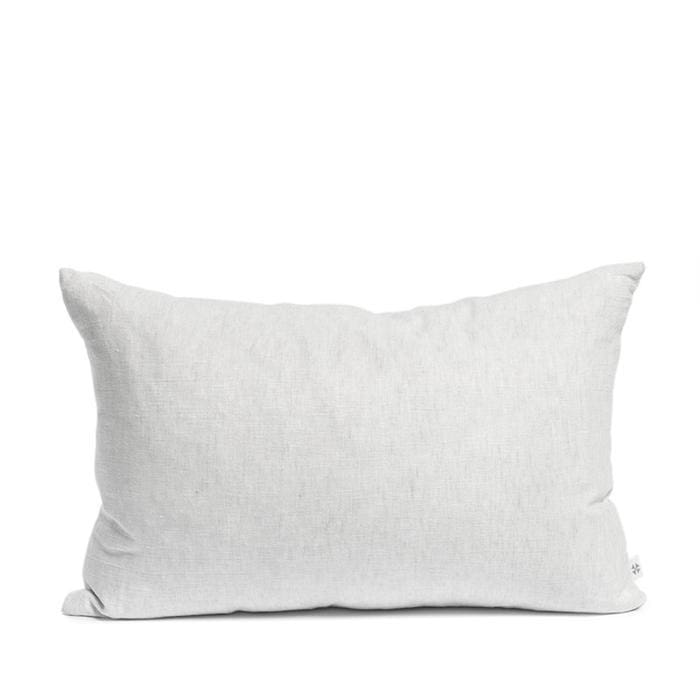 Linen cushion misty grey-40 x 60 cm