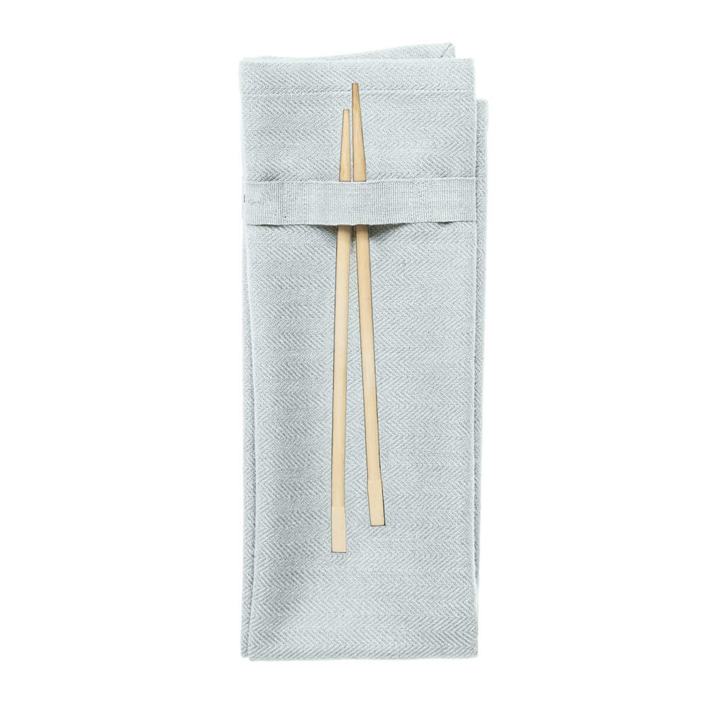 Organic cotton napkin- baby blue