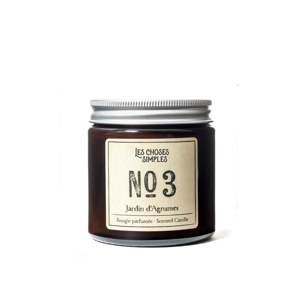 NO 3 Jardin d'Agrumes Soy Candle