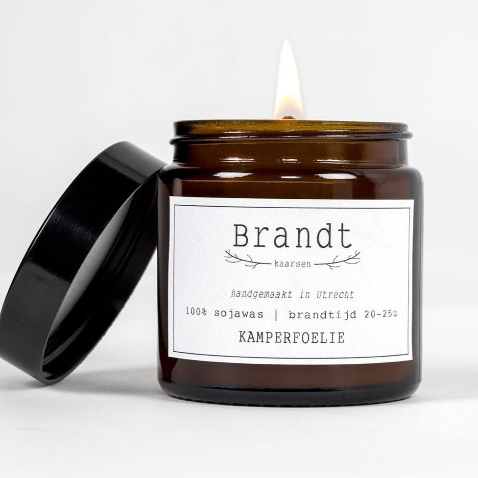 Honeysuckle Soy candle- Brandt