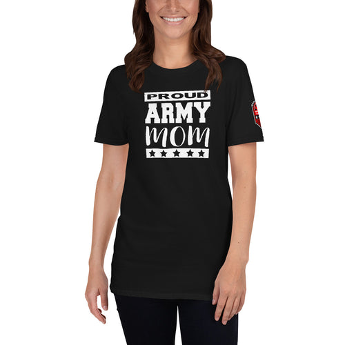 Proud ARMY Mom Short-Sleeve Unisex T-Shirt