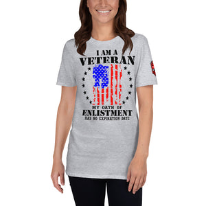 I Am A Veteran Short-Sleeve Unisex T-Shirt