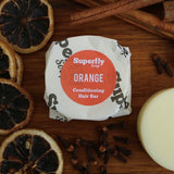 Orange Solid Conditioner Bar