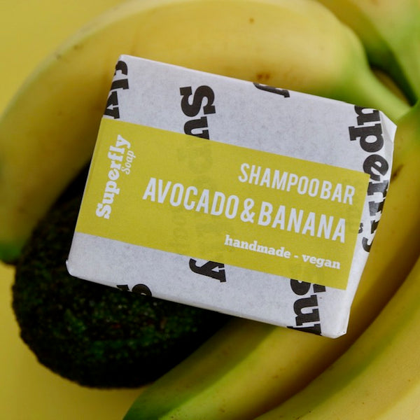 Avocado & Banana Solid Shampoo Bar
