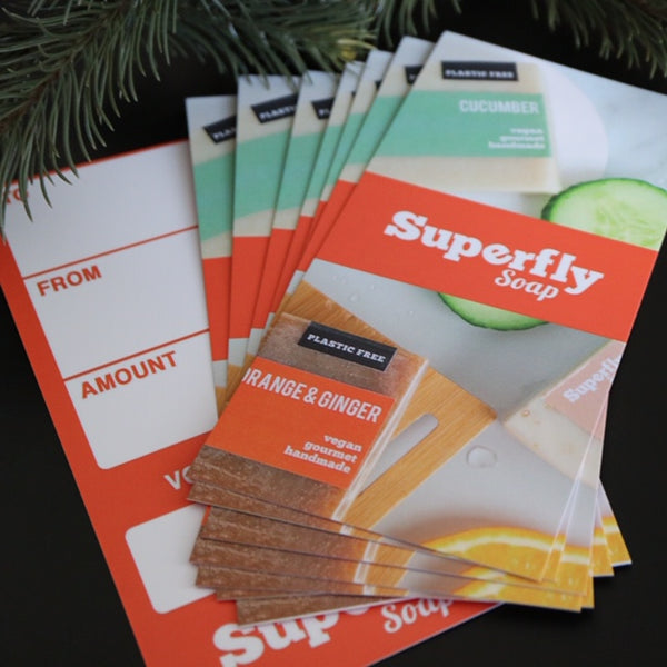 Superfly Soap Gift Card (Physical)