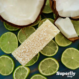 Coconut Milk & Lime Exfoliating Hand & Body Soap