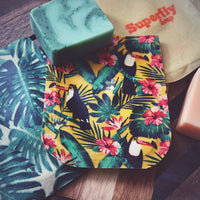 Wax Soap Travel Pouch - Vegan