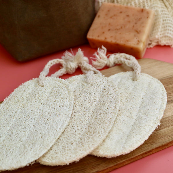 Natural Loofah Body Scrub